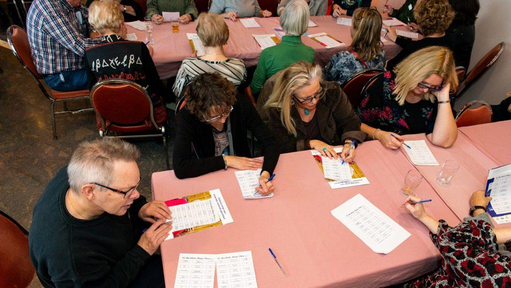 Muzikale bingo Dag van de Vrijwilliger 2019